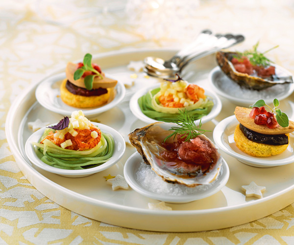 christmas recipe assorted amuse bouches marie france asia women 39 s magazine. Black Bedroom Furniture Sets. Home Design Ideas
