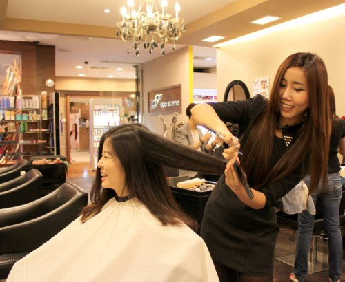 Asian hair salons