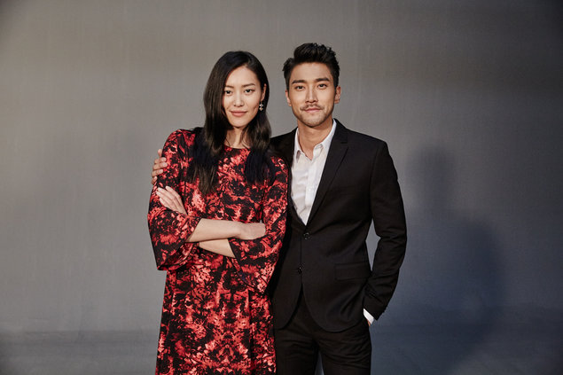 Choi Siwon and Liu Wen for H&M's Chinese New Year 2016 collection