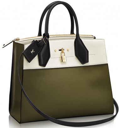 Full Steam Ahead Functionality Follows A Gorgeous Form In Louis Vuitton S City Steamer Tote