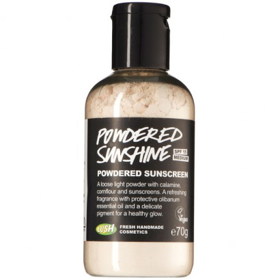loose powder without talc