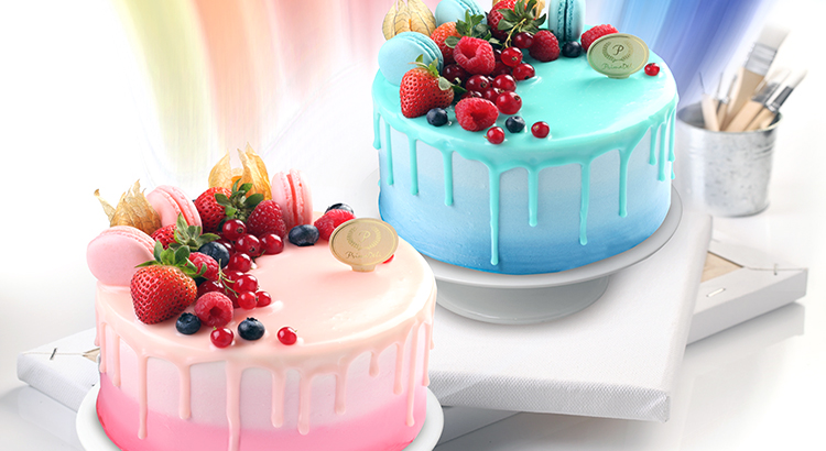 PrimaDéli's superbly artistic cakes bring watercolours to life