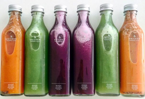 unicorn pressed juice