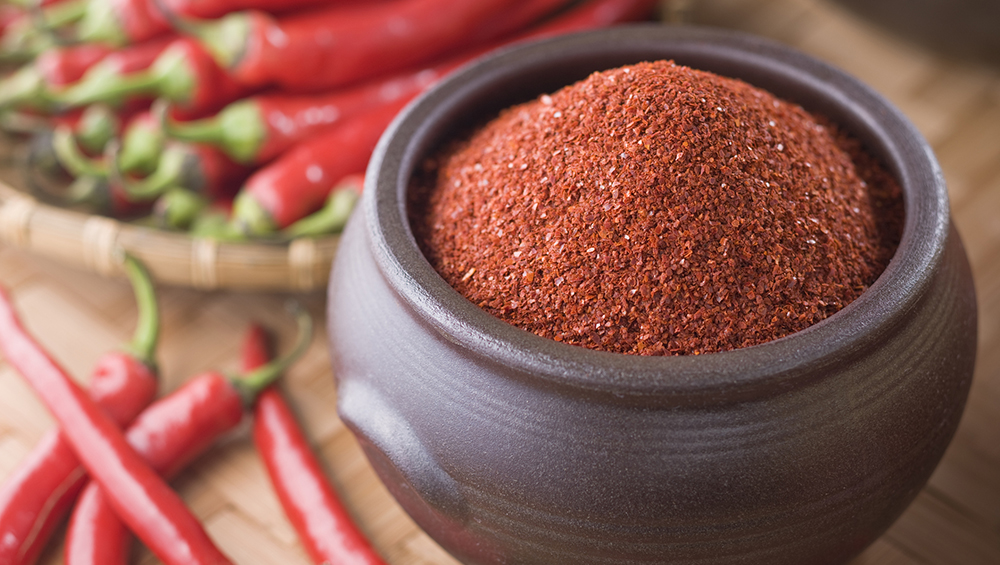 chili powder pepper cayenne blood natural foods seasoning chilli thin ground thinner cajun powders vegetables peppers fruits rf gettyimages