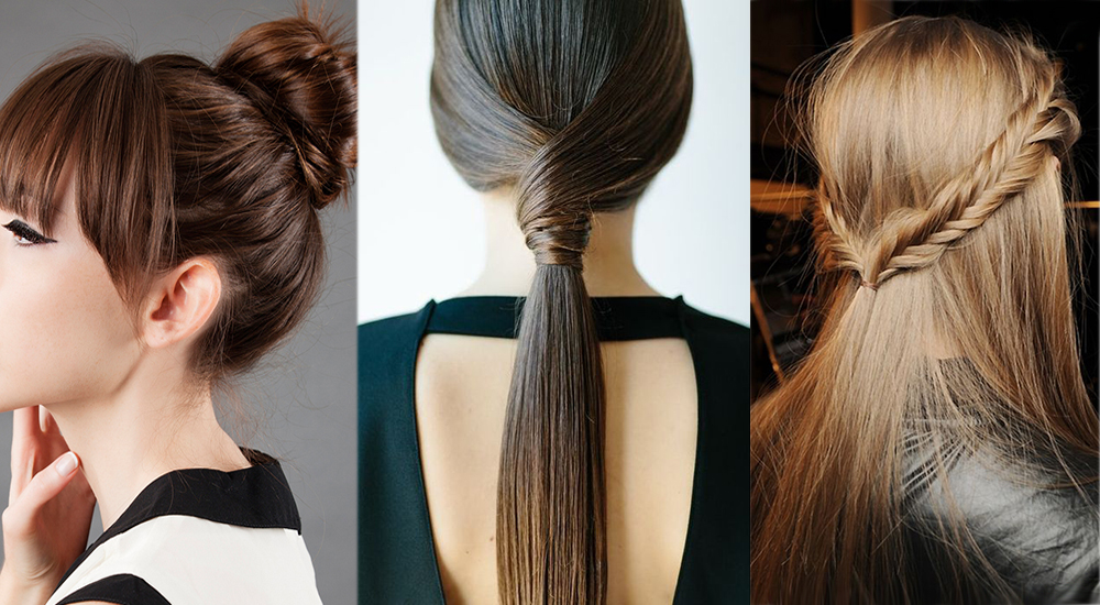 Hair Style Thin Hair: Braids & Ponytails: 25 Easy Hairstyles For Women With Fine