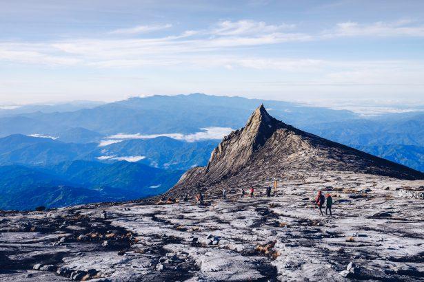 Peak of mount Kinabalu. Located at Kota Kinabalu Sabah