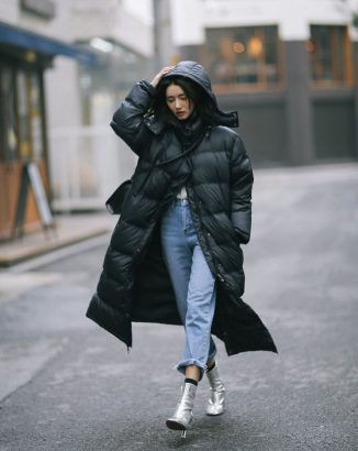This Winter Coat Trend Is Taking South Koreas Streetstyle By Storm