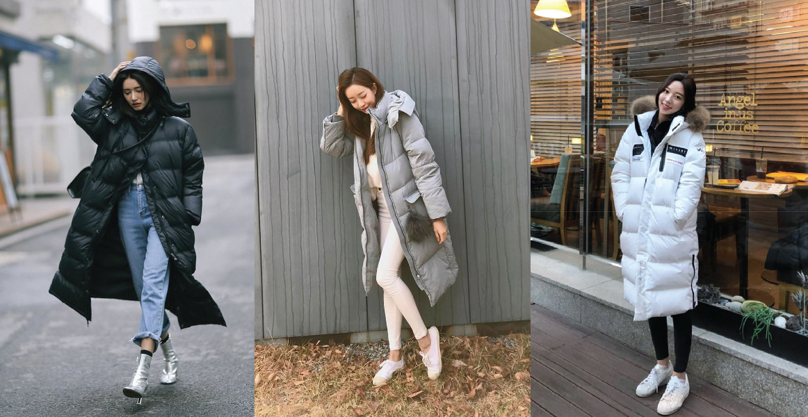 This Winter Coat Trend Is Taking South Korea S Streetstyle