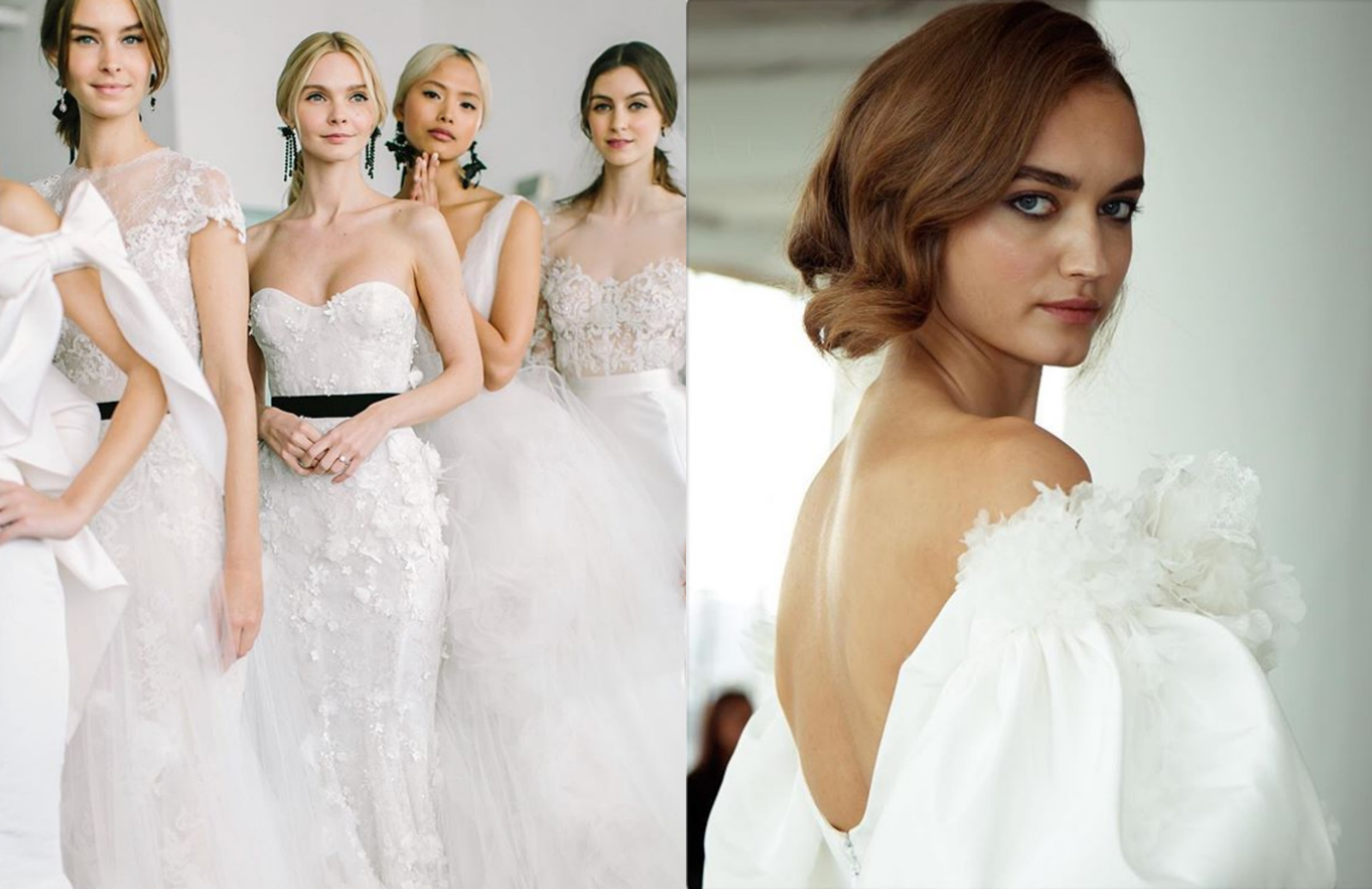 How to style your hair to match your wedding dress neckline
