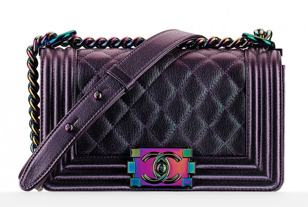 547a5f25310859 Chanel Iridescent Boy Bag: The luxury brand's 'Mermaid Bag'