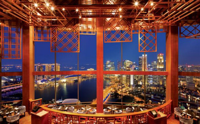 Luxury Hotel Restaurants In Singapore