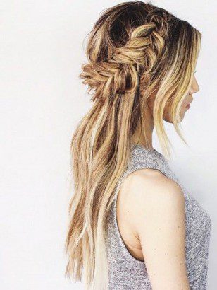 Fantastic 25 Sophisticated Half Tail Hairstyles To Make Everybody Jealous Schematic Wiring Diagrams Amerangerunnerswayorg