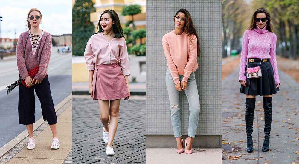 073cee3fa 11 Ways to flaunt the colour pink as seen on street style mavens